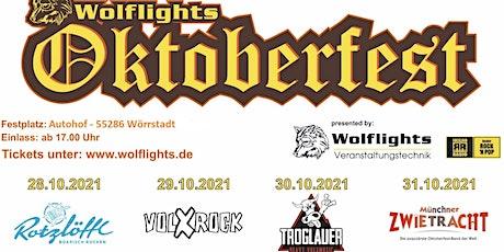 Oktoberfest Wolflights- 29.10 mit Volxrock billets