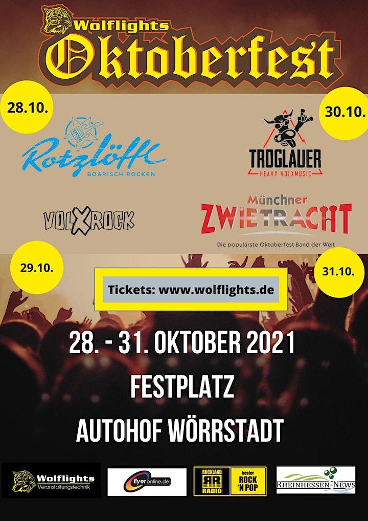 Oktoberfest Wolflights- 31.10 mit der Münchner Zwietracht: Bild