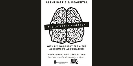 Alzheimer's & Dementia: The Latest in Research tickets