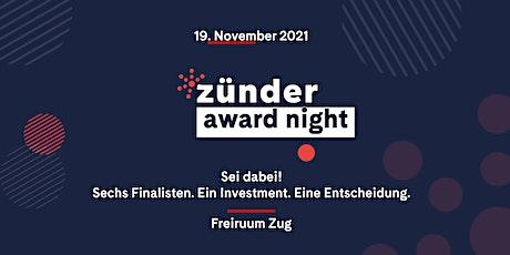 *zünder award night tickets