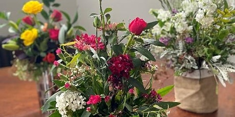 Community floristry workshop: Introduction to flower arranging tickets