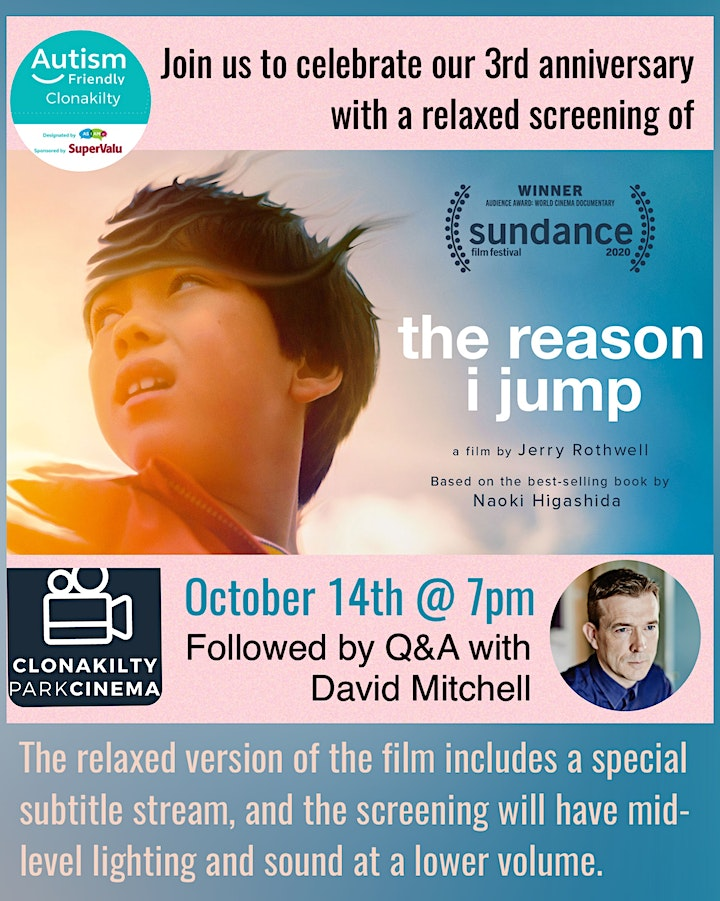 Relaxed Screening of 'The Reason I Jump' image