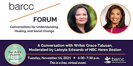 BARCC Forum: Conversations for Understanding, Healing, and Social Change tickets