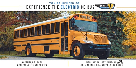 Experience the Electric CE Bus at Wolfington Body Company tickets