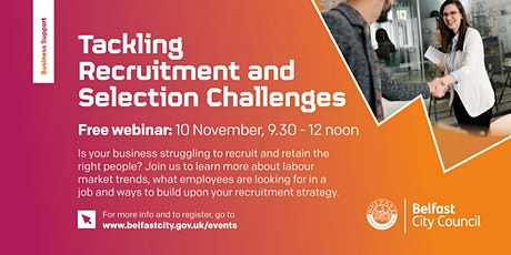 Tackling the Recruitment and Selection Challenges of today tickets
