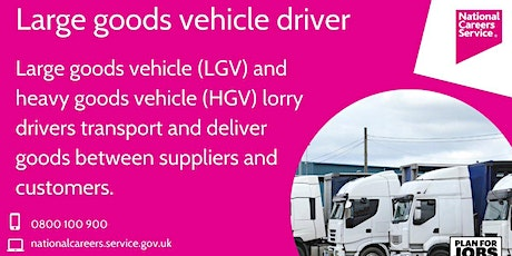 How To Get Into The  Transport and Logistics Sector tickets