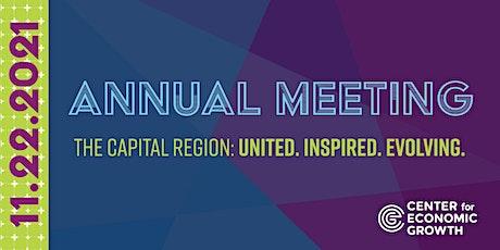 CEG 2021 Annual Meeting tickets