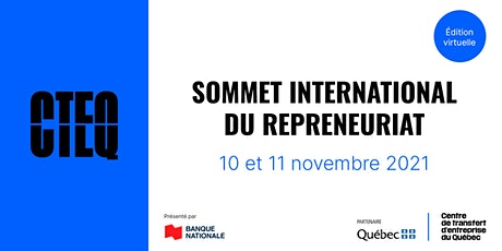 Sommet international du repreneuriat - édition virtuelle billets