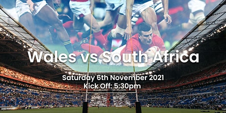 Wales v South Africa | Rugby Internationals tickets