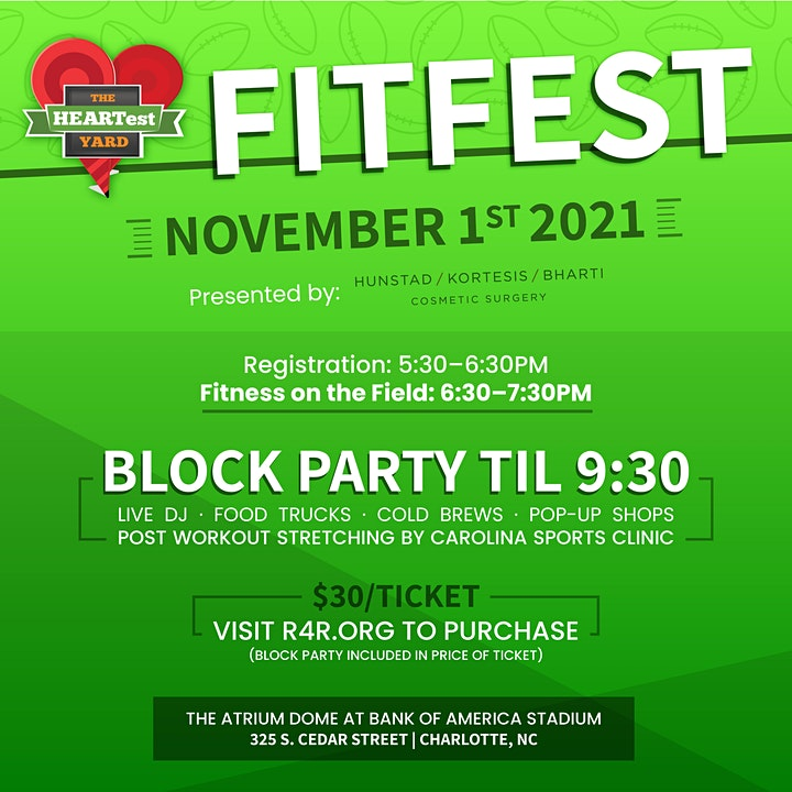 HEARTest Yard FitFest image