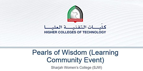 Pearls of Wisdom (Higher Colleges of Technology) tickets