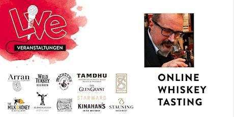 Online Whisky Tasting mit Jürgen Deibel tickets