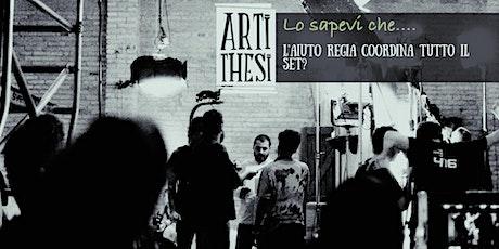 OPEN DAY  Corso di  Aiuto regia- Lezione gratuita biglietti