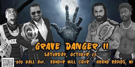 IPW GRAVE DANGER II - Live Pro Wrestling In Grand Rapids, MI - 10/23/2021 tickets