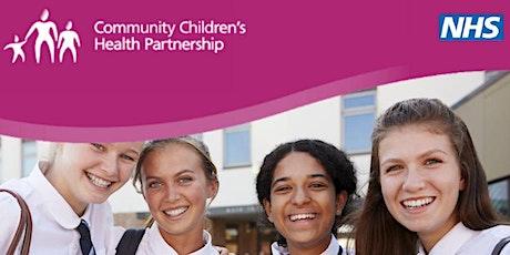 Sirona School Health Nursing Webinar - Understanding Your Child's Wellbeing tickets