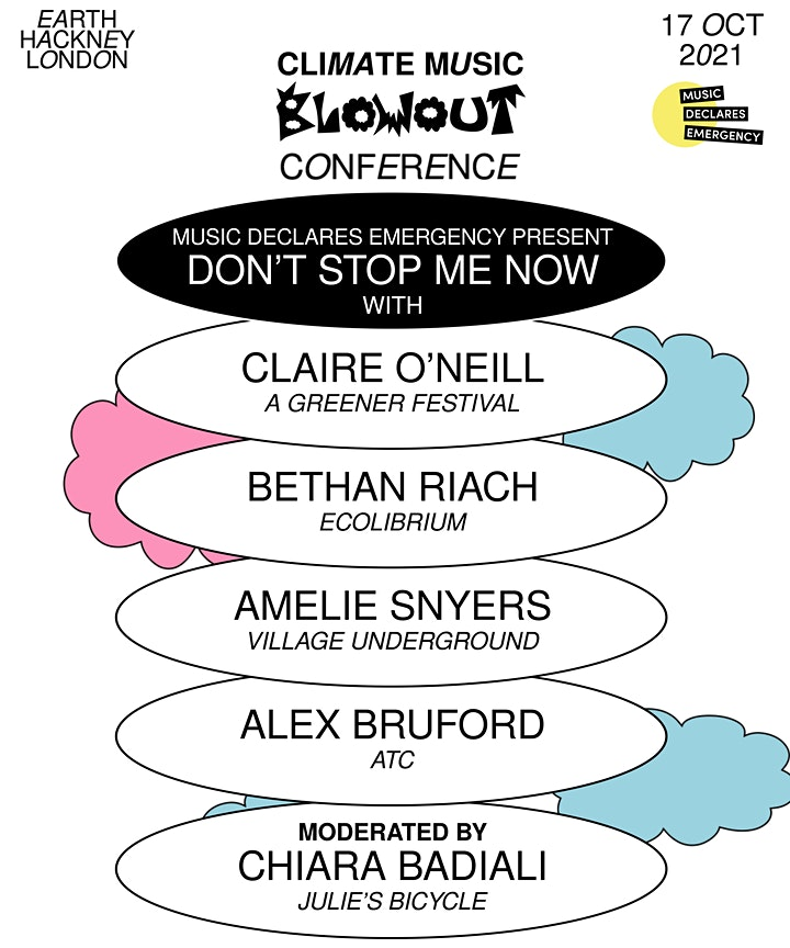 Climate Music Blowout Conference image