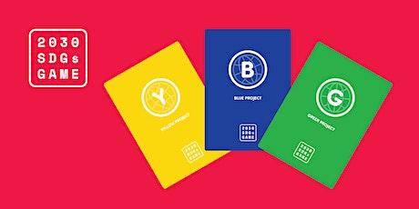 2030 Sustainable Development Goals Game - Kingston November 2021 #SDGs tickets
