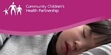 Sirona School Health Nursing Webinar - Helping Your Child With Sleep tickets