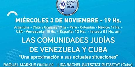 LAS COMUNIDADES JUDIAS DE VENEZUELA Y CUBA ingressos