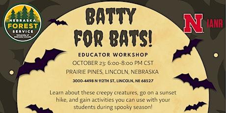 Batty for Bats! Educator Workshop tickets