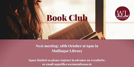 Mullingar Library book club tickets
