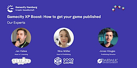 Gamecity XP Boost: How to get your game published tickets