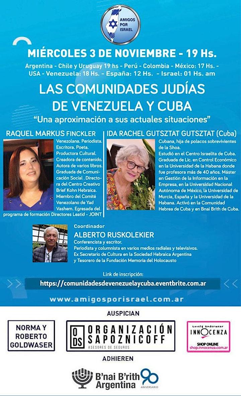 Imagen de LAS COMUNIDADES JUDIAS DE VENEZUELA Y CUBA