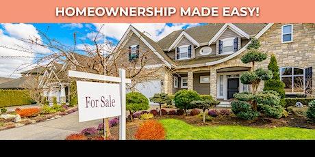 "Homeownership ""Made Easy"" Seminar tickets"
