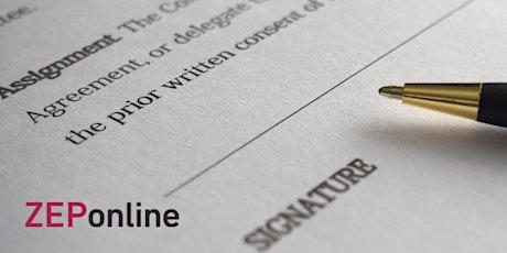ZEPonline: De juridische kant van ondernemen en evenementenorganisatie. tickets