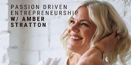 Coffee & Chat: Passion Driven Entrepreneurship w/Amber Stratton tickets