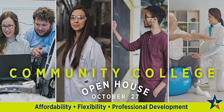 Community College Open House  | Students, Parents and Professionals tickets