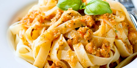 Handmade Pasta With Sicilian Sauce - Online Cooking Class by Cozymeal™ tickets