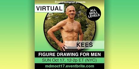 Men Drawing Men (ONLINE)SUN Oct 17, 12-2p ET (NYC) tickets