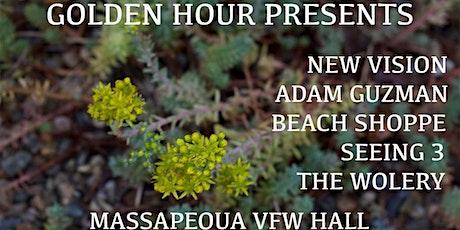 GOLDENHOUR PRESENTS: NEW VISION ADAM GUZMAN BEACH SHOPPE AND MORE tickets