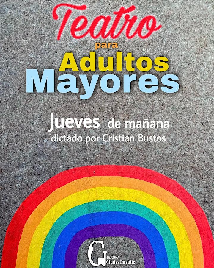 Imagen de Teatro para adultos mayores