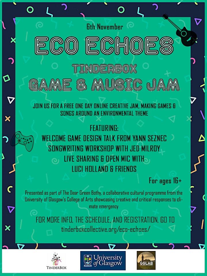 Eco Echoes - Tinderbox Game & Music Jam image