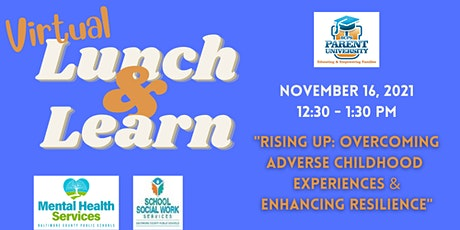 Rising Up: Overcoming Adverse Childhood Experiences & Enhancing Resilience. tickets