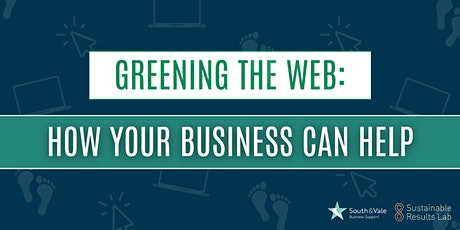 Greening the web: how your business can help tickets