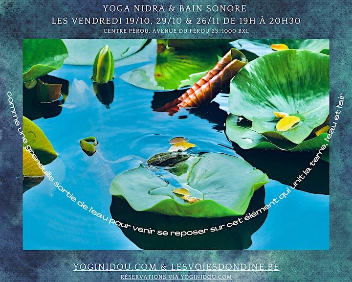 Image pour Yoga Nidra / Relaxation en bain sonore