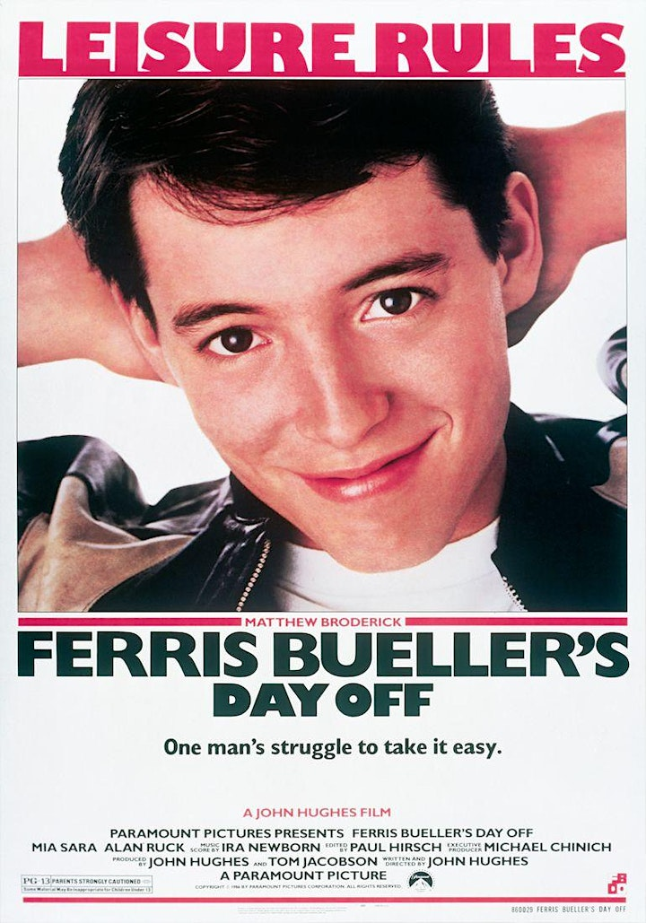Last Orders Picture House - Ferris Bueller's Day Off image