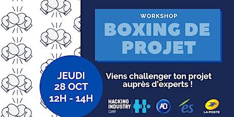 Workshop HIC - Boxing de projet billets