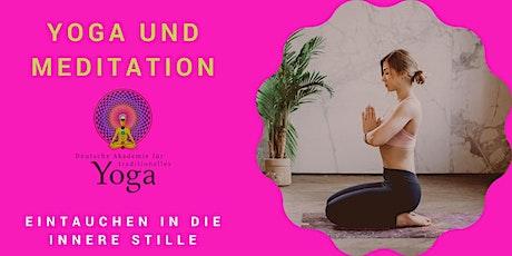 Yoga und Meditation: Eintauchen in die innere Stille Tickets