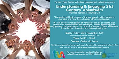 Understanding & Engaging 21st Century Volunteers tickets