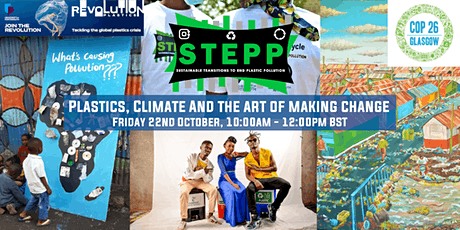 Plastics, Climate and the Art of Making Change tickets