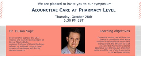 Adjunctive care at Pharmacy Level tickets