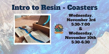 Intro to Resin - Coasters - Two Part Series tickets