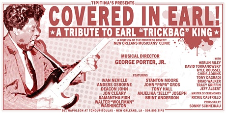 """Covered in Earl! A Tribute to Earl """"Trickbag"""" King tickets"""