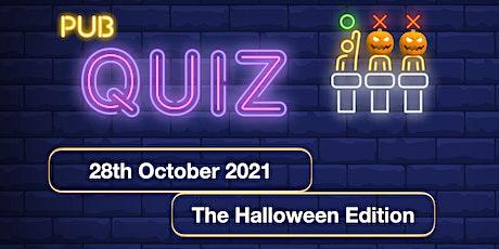 B. PubQuiz #5 - Halloween Edition tickets