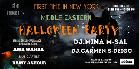 Middle Eastern HALLOWEEN Party tickets
