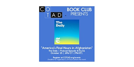 COTAD Book+ Club Meeting tickets